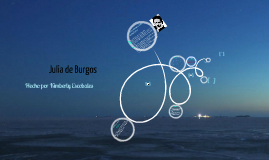 ''A Julia de Burgos''