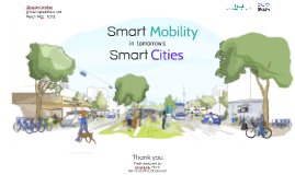 Smart mobility in tomorrow's smart cities