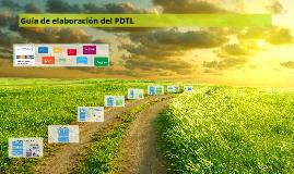 Guía de elaboración del PDTL