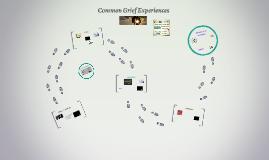 Common Grief Experiences