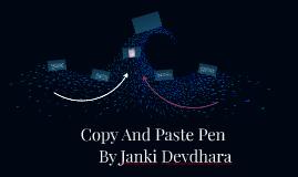 Copy And Paste Pen