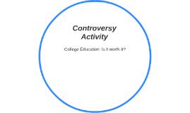 Controversy Activity