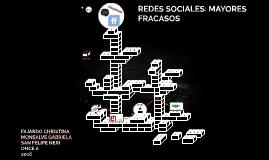 REDES SOCIALES: MAYORES FRACASOS