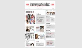 Interviewpracticum Les 3