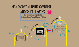 mandatory overtime nursing Cleveland - ohio lawmakers are backing new legislation that would ban  mandatory overtime for nurses in hospitals statewide after an.