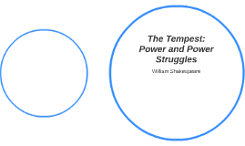 The Tempest: Power and Power Struggles