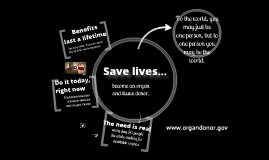Save lives; become an organ donor!