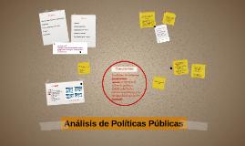 Análisis de Políticas Públicas 2016/17