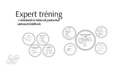 Copy of Expert tréning