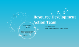 Resource Development Action Team