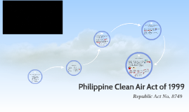 philippine clean air act of 1999 Diesel-burning engines, is the major cause of air pollution 1 this is a paper su bmitted to the faculty of the graduate school of eastern visayas state university in tacloban city, philippines as a case analysis of existing government policy on the implementation of the clean air act of 1999, particularly on.