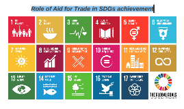 Role of Aid for Trade in SDGs achievement