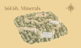 S6E6b. Minerals