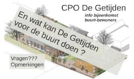 Copy of CPO De Getijden