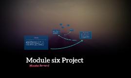 Module 6 Progect