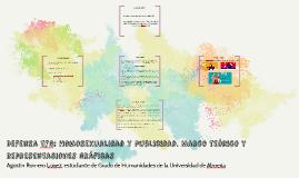 Defensa tfg: Homosexualidad y publicidad. Marco teórico y re