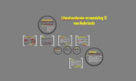 Instructie literair thema 5V/6V