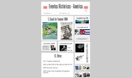 Eventos Históricos - América