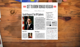 GET TO KNOW RONALD REAGAN