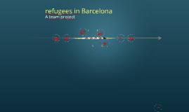 refugees in Barcelona