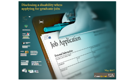 Disclosing a disability when applying to graduate work