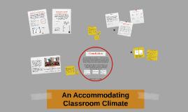 Case 4: EPSE Accommodating Classrooms