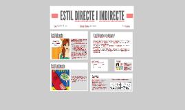 ESTIL DIRECTE I INDIRECTE