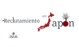 Reclutamiento de personal Japón