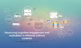 Measuring cognitive engagement and motivation in informal sc