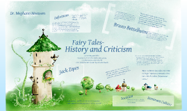 Fairy Tales- History and Criticism