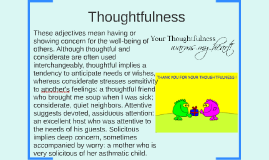 Thoughtfulness