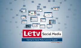 LeTV Social Media
