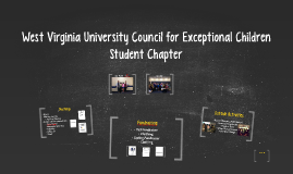 West Virginia University Council for Exceptional Children
