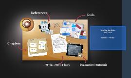 Copy of Impact of Teacher Evaluaion Protocols on Classroom Instructi