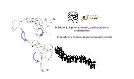 Módulo 3. Agencia juvenil, participación y ciudadanías