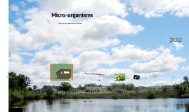 Micro organisms