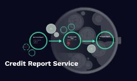Credit Report Service