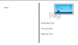 THE GREAT WAR/ww1