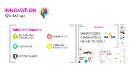 Innovation Workshop #3
