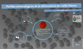 Perfiles criminológicos de la delincuencia de cuello blanco