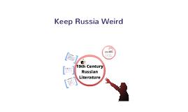19th Century Russian Literature