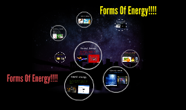 Forms Of Energy
