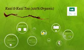 Kazi & Kazi Tea (100% Organic)