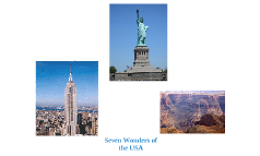 Seven Wonders of the USA