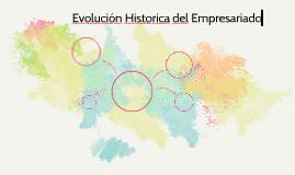 Evolución Historica del Empresariado en