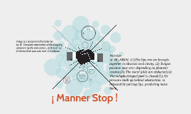 ¡ Manner Stop !