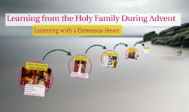 Learning from the Holy Family During Advent
