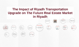 The Impact of Riyadh Transportation Upgrade on The Future Re