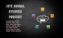 Social Studies project 1B