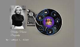 Copy of Marilyn Monroe Biography